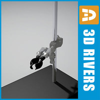3ds max support stand clamp