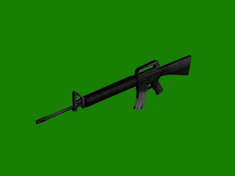 obj m16 shooter