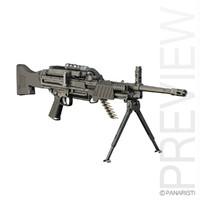 5 mg light machine gun 3d model
