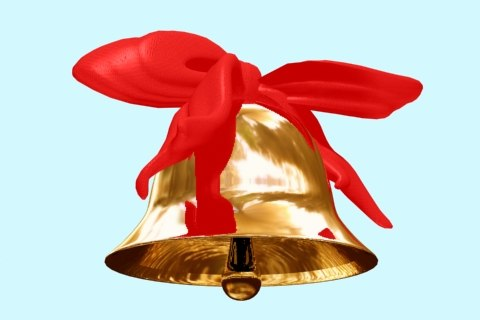 3d model bell bow
