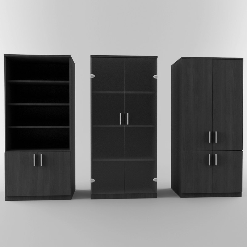 3d model office storage