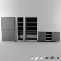 office storage 3d model