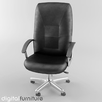 office chair 3d lwo