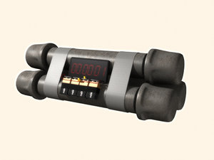 3ds max pipe bomb