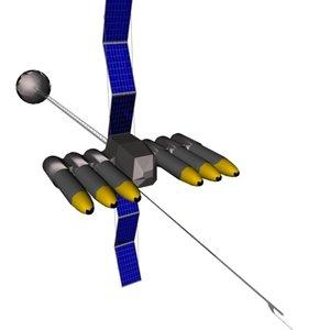 orbital platform 3d model