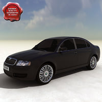 obj skoda superb 2007