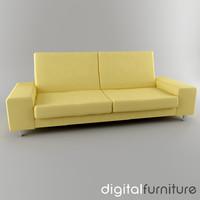 3d sofa digital