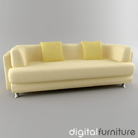 3d sofa digital