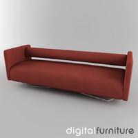 3d model sofa digital