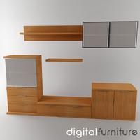 wall digital 3d dxf