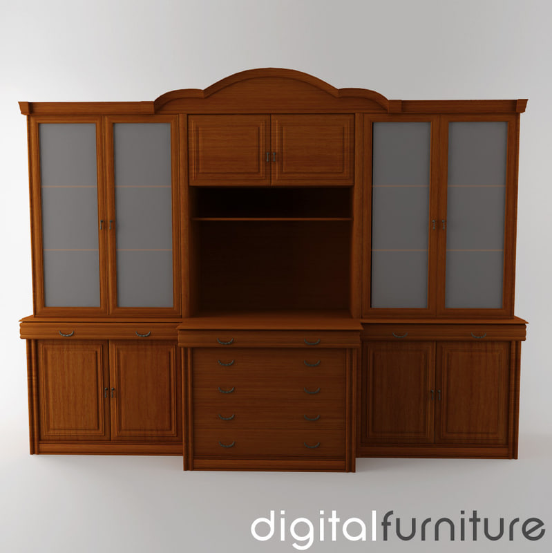 3d wall digital model