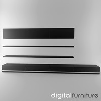 TV Furniture Wall System 16