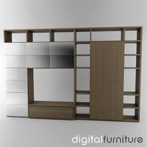 3d wall digital