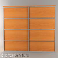 wardrobe digital 3d 3ds