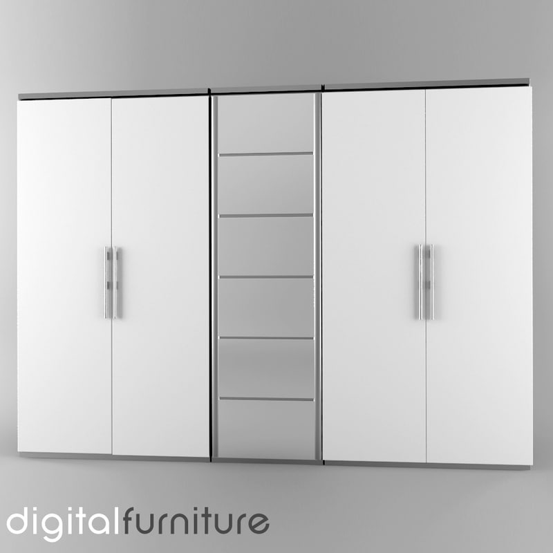 wardrobe digital 3d 3ds