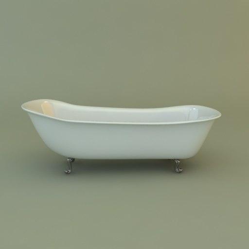 3d model bath interior