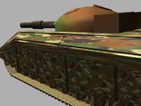free 3ds model tank military