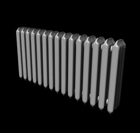 3d central heating model