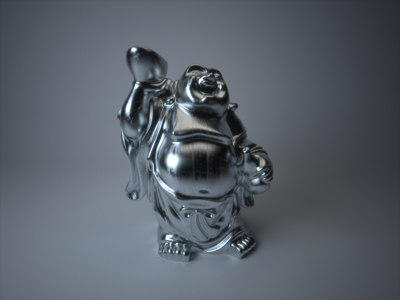 free buddha 3d model