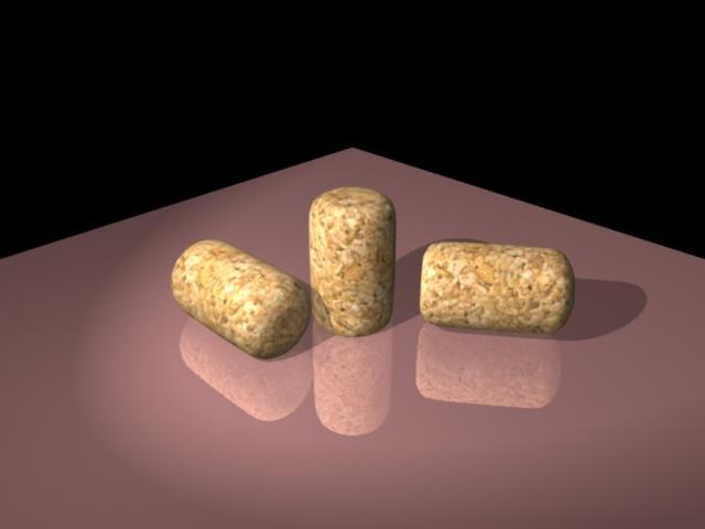 cork 3d model