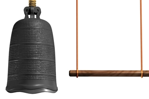 3d temple bell model