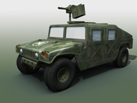 3dsmax military vehicle hmmwv