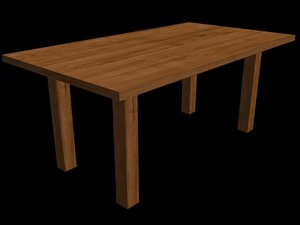 wooden table - max free