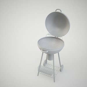 3d model of barbeque