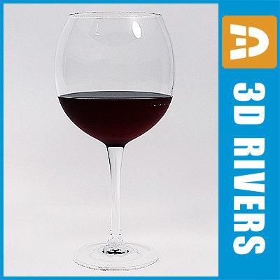 glass red wine max