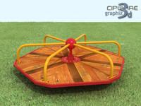 3d park toy model