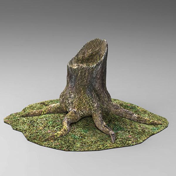 tree stump max