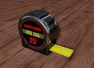 tape measure 3d model