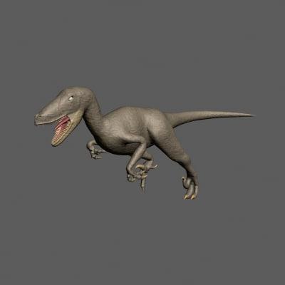 raptor 3d max