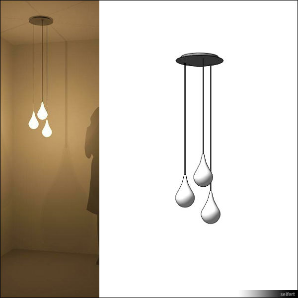 suspended ceiling lamp 3d model