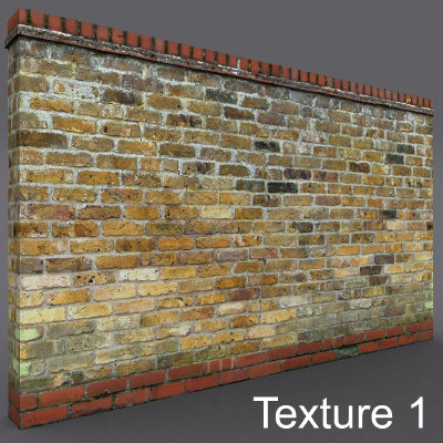 3d wall reclaimed brick