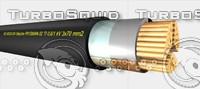 3d prysmian power cable shipline model