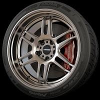 3d ame wheel rim