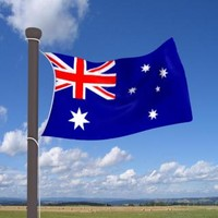 max real flag cloth australia