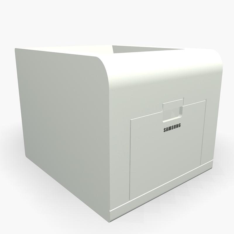3dsmax samsung printer