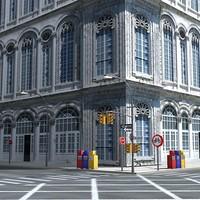 max city street