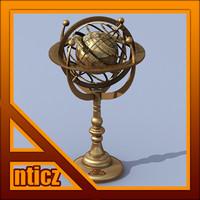 Armillary Sphere Bronze