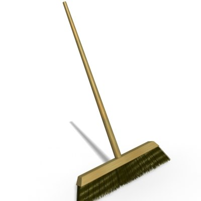 3d model push brush