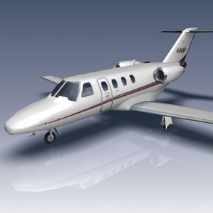 3ds max citation cj1 jets