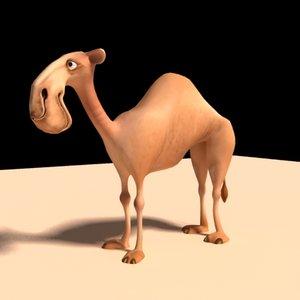 3dsmax cartoon camel