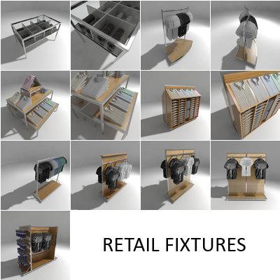 3d retail fixtures