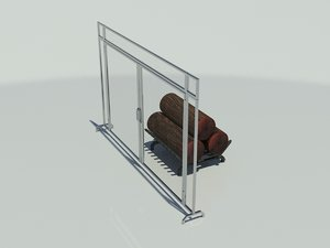 obj stainless steel fireplace screen