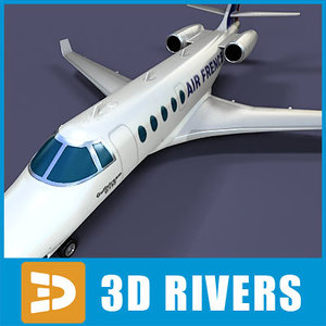 3d gulfstream g150 jets