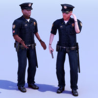 Policemen B&C Rigged