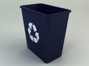 3d model recycle bin