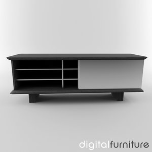 sideboard digital 3ds